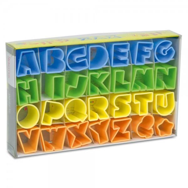 Ausstecher Alphabet ca. 2,5 cm Set, 28-teilig