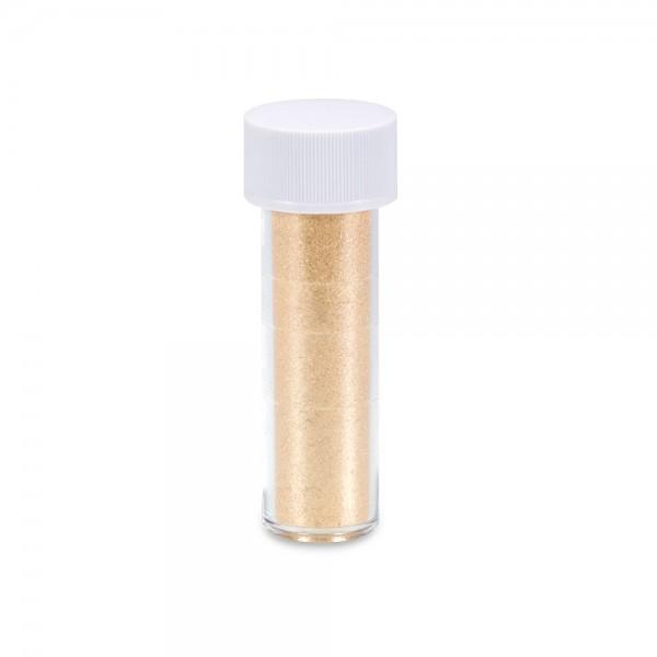 Speisefarbe Kristallpulver Goldglimmer 2 g
