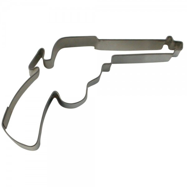 Ausstecher Colt / Revolver ca. 8,5 cm