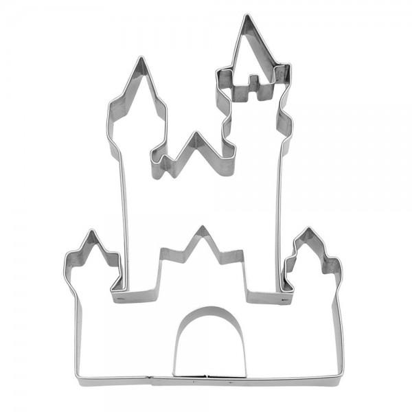 Prägeausstecher Schloss Neuschwanstein ca. 11 cm