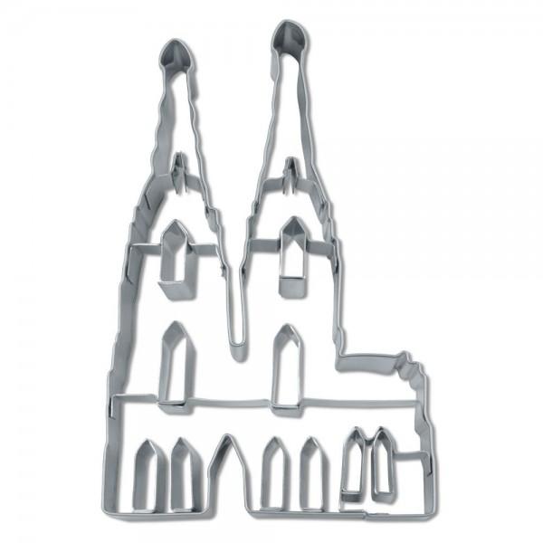 Prägeausstecher Kölner Dom ca. 12 cm