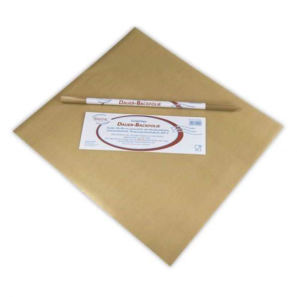 Dauer-Backtrennfolie 40 x 50 cm Beige