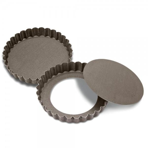 Backform Perfect Tarteform mit Hebeboden ca. ø 10 x 2 cm Rund 2 Stück 100 ml