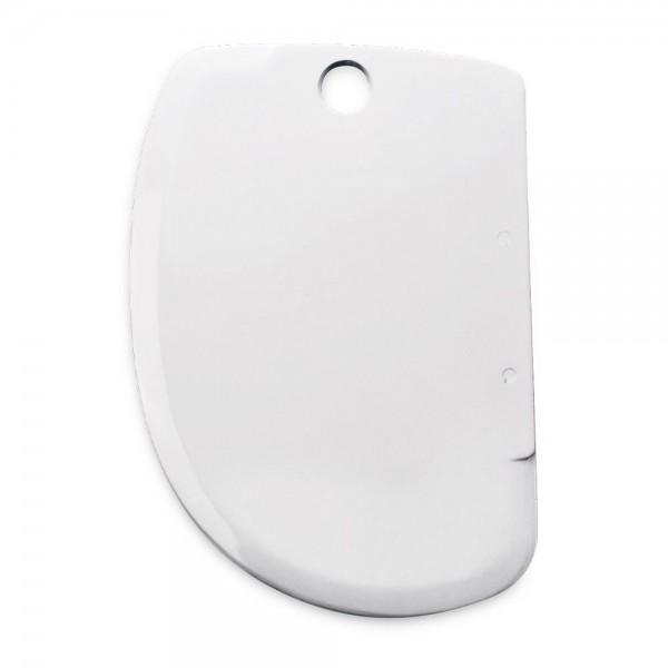 Teigschaber ca. 8,5 x 12,5 cm Weiß