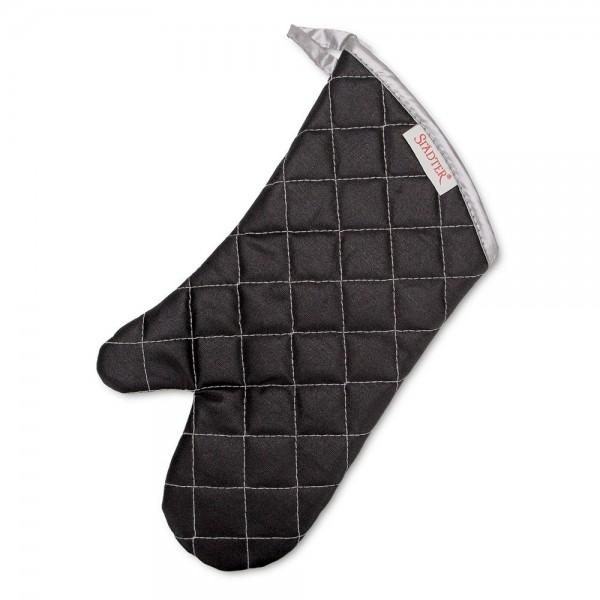 Backhandschuh 36,5 x 18 cm Schwarz