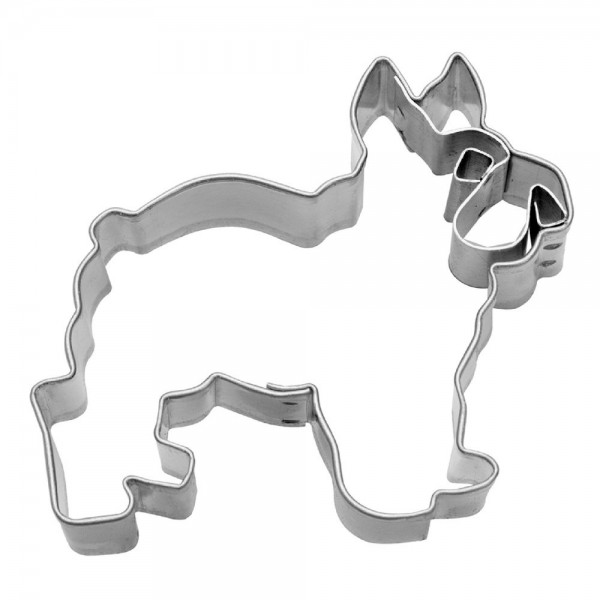 Prägeausstecher Bulldogge ca. 6,5 cm