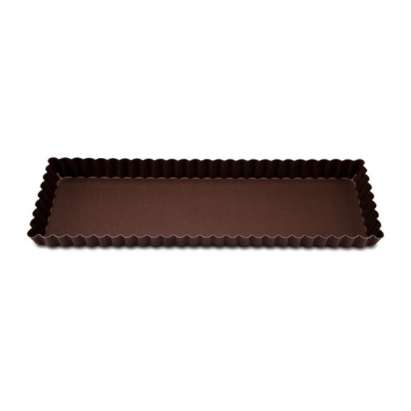Backform Perfect Tarteform mit Hebeboden ca. 35 x 11 x 2,5 cm Recht 600 ml