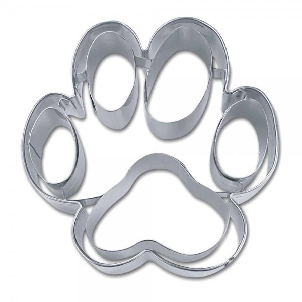Prägeausstecher Hundepfote ca. 7,5 cm