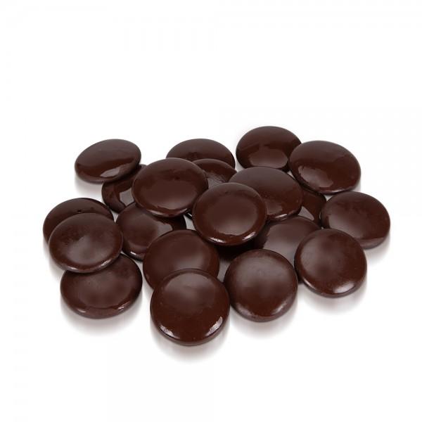 Naschschokolade Drops Edelbitter 50 g