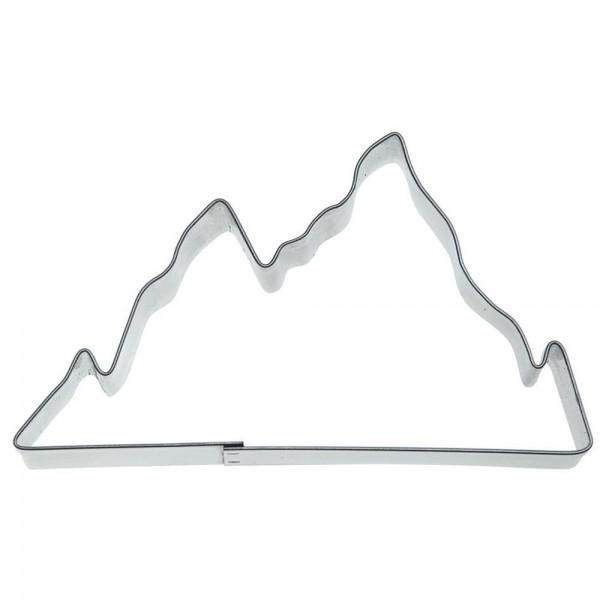 Ausstecher Berge ca. 9,5 cm