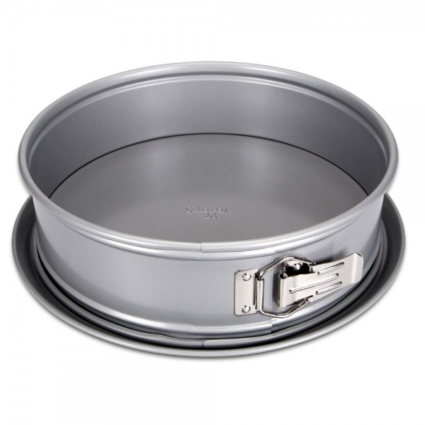 We-Love-Baking Springform ca. ø 20 cm / H 7,5 cm Silber mit Flach 2.500 g