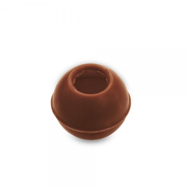 Pralinen Hohlkörper Truffes ø 26 mm Schokolade 63 Stück 170 g