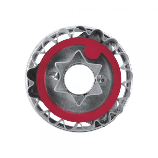 Ausstecher Linzer Stern ca. 4,8 cm zerlegbar