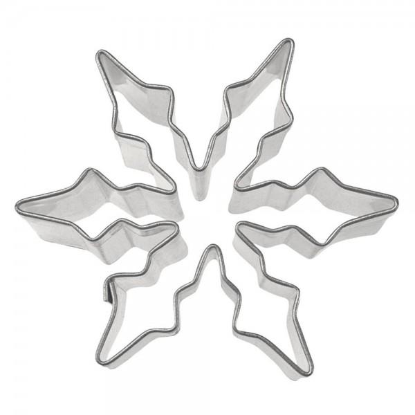 Ausstecher Eiskristall ca. 6 cm