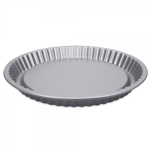 We-Love-Baking Obstbodenform ca. ø 22 cm / H 3 cm Silber