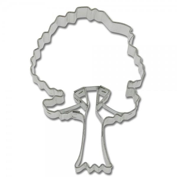 Prägeausstecher Ficus / Baum ca. 7,5 cm