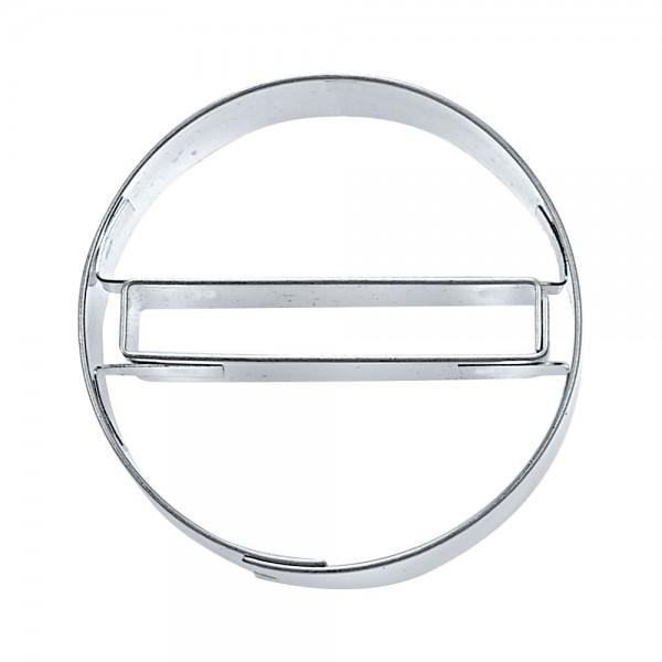 Prägeausstecher Einfahrt verboten ca. 4,5 cm