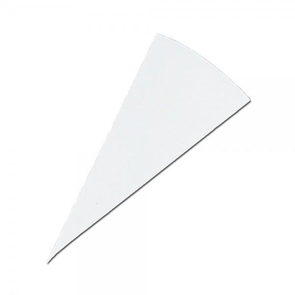 Dekorbeutel / Beschriftungsbeutel ca. 21 cm Weiß