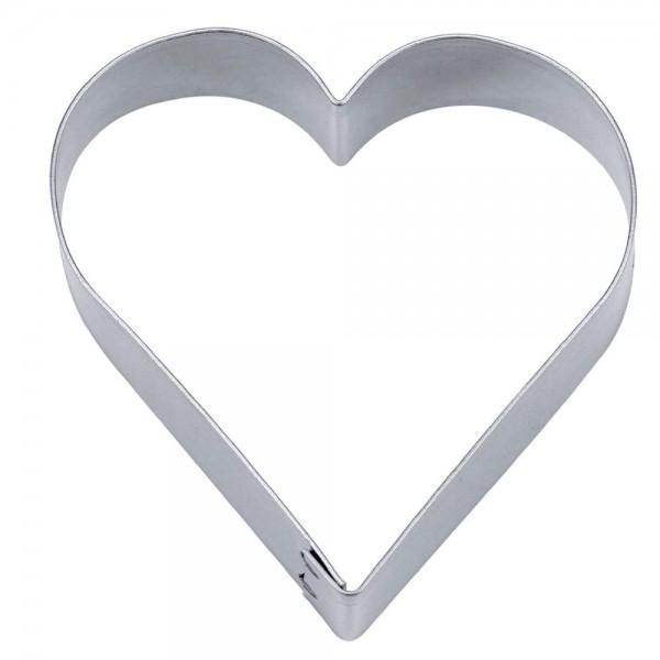 Ausstecher Herz ca. 2,5 cm / H 2 cm
