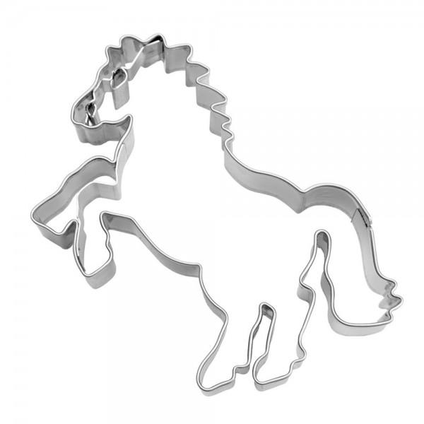 Prägeausstecher Steigendes Pferd ca. 8 cm