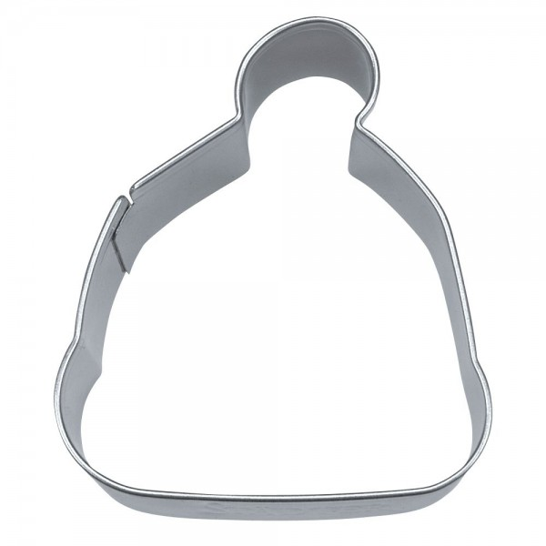 Ausstecher Mütze / Skimütze ca. 6 cm