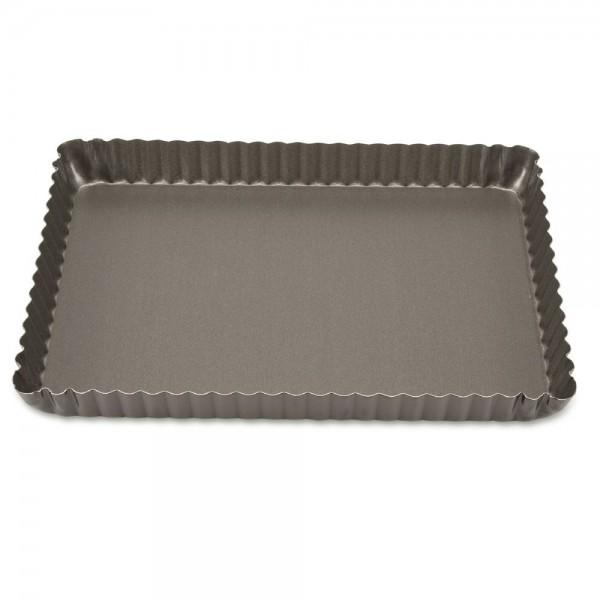 Backform Perfect Tarteform mit Hebeboden ca. 29 x 20 x 3 cm Rechtec 1.400 ml