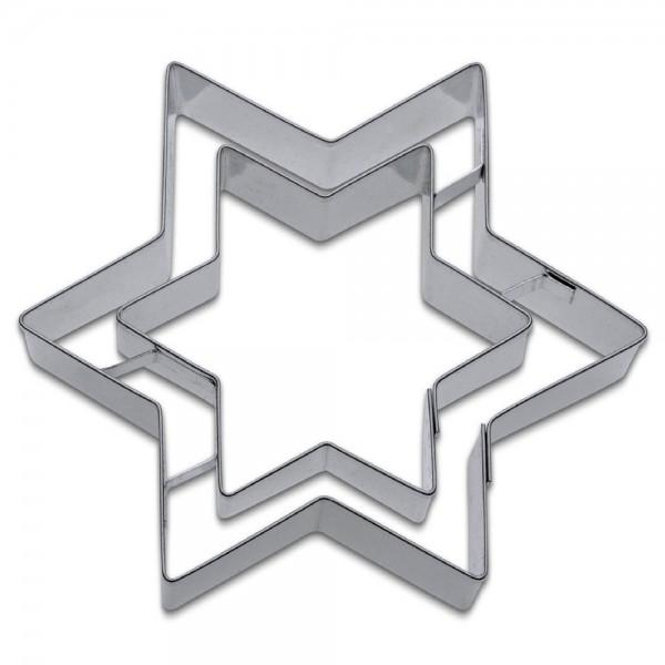 Prägeausstecher Stern ca. 9,5 cm