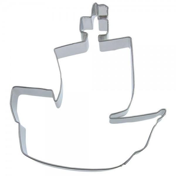 Ausstecher Piratenschiff ca. 10,5 cm