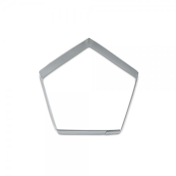 Ausstecher Fünfeck ca. 7 cm