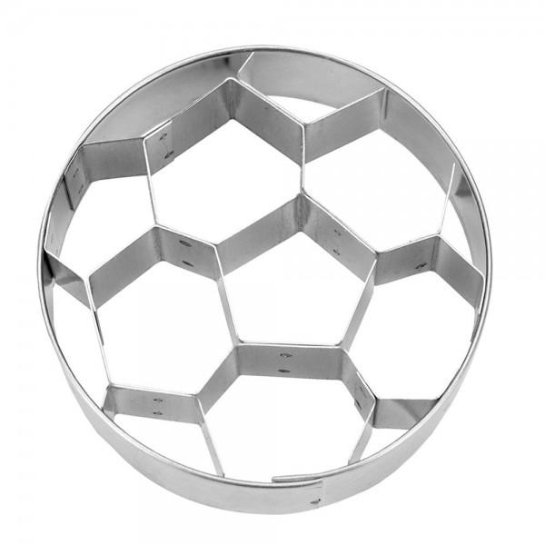 Prägeausstecher Fußball ca. 6 cm