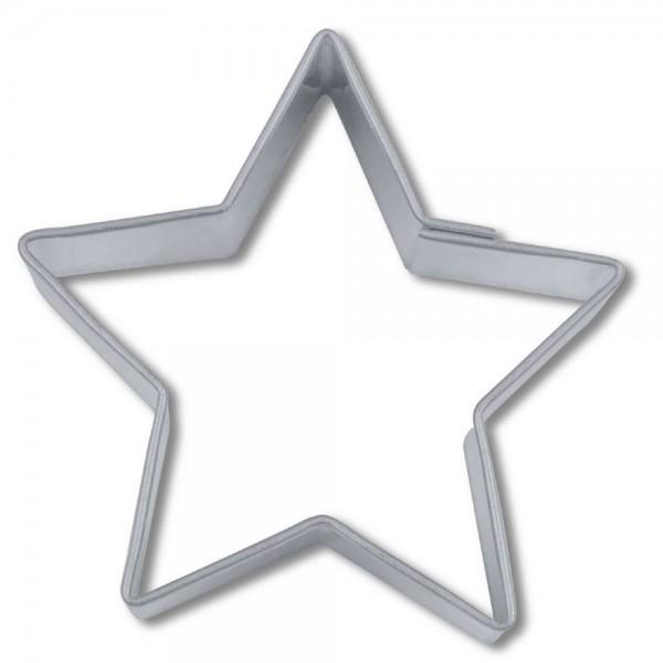 Ausstecher Stern ca. 4 cm 5-zackig