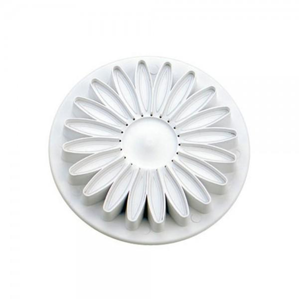 Ausstecherset Sonnenblume / Gerbera ca. 70 mm Weiß