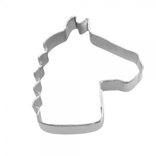 Ausstecher Pferdekopf ca. 1,5 cm Mini